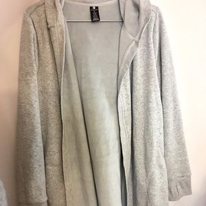 90 Degree By Reflex Sweaters - Long Athletic Lounge Cardigan
